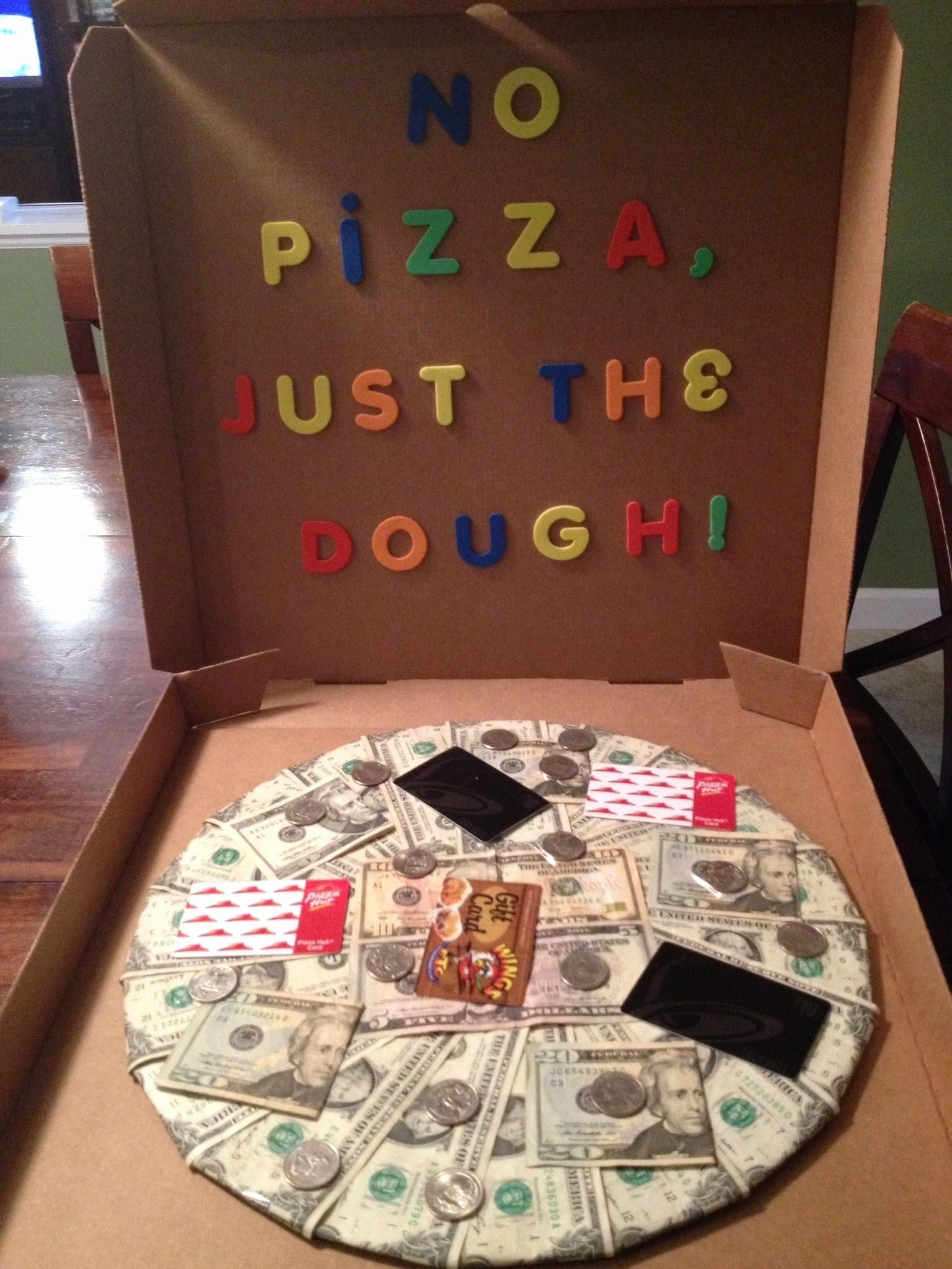 10 Wonderful Gift Card Ideas For Men birthday gift card ideas for him new no pizza just the dough made 2021