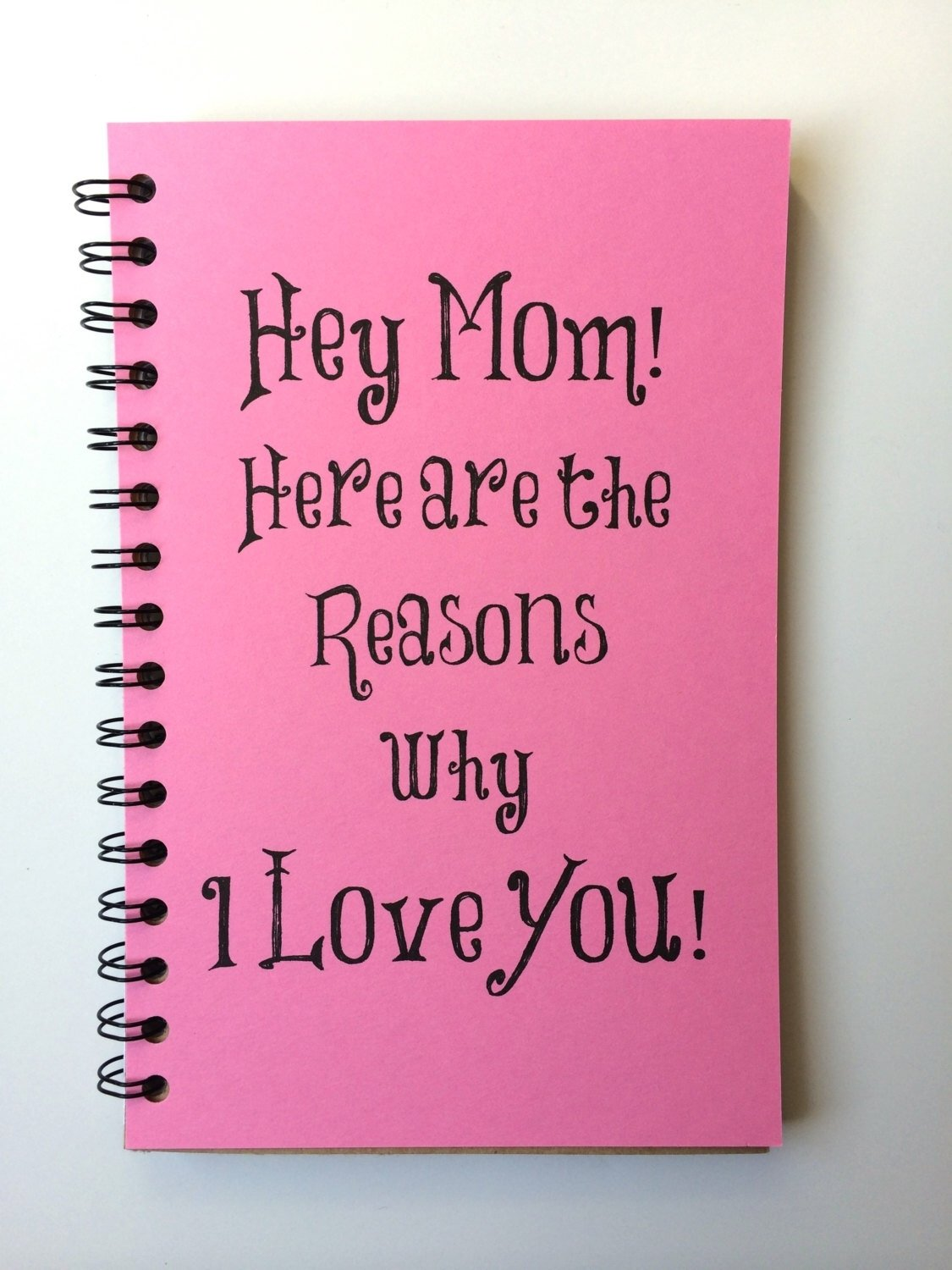 birthday gift for mom, mothers day gift, notebook, gift, from