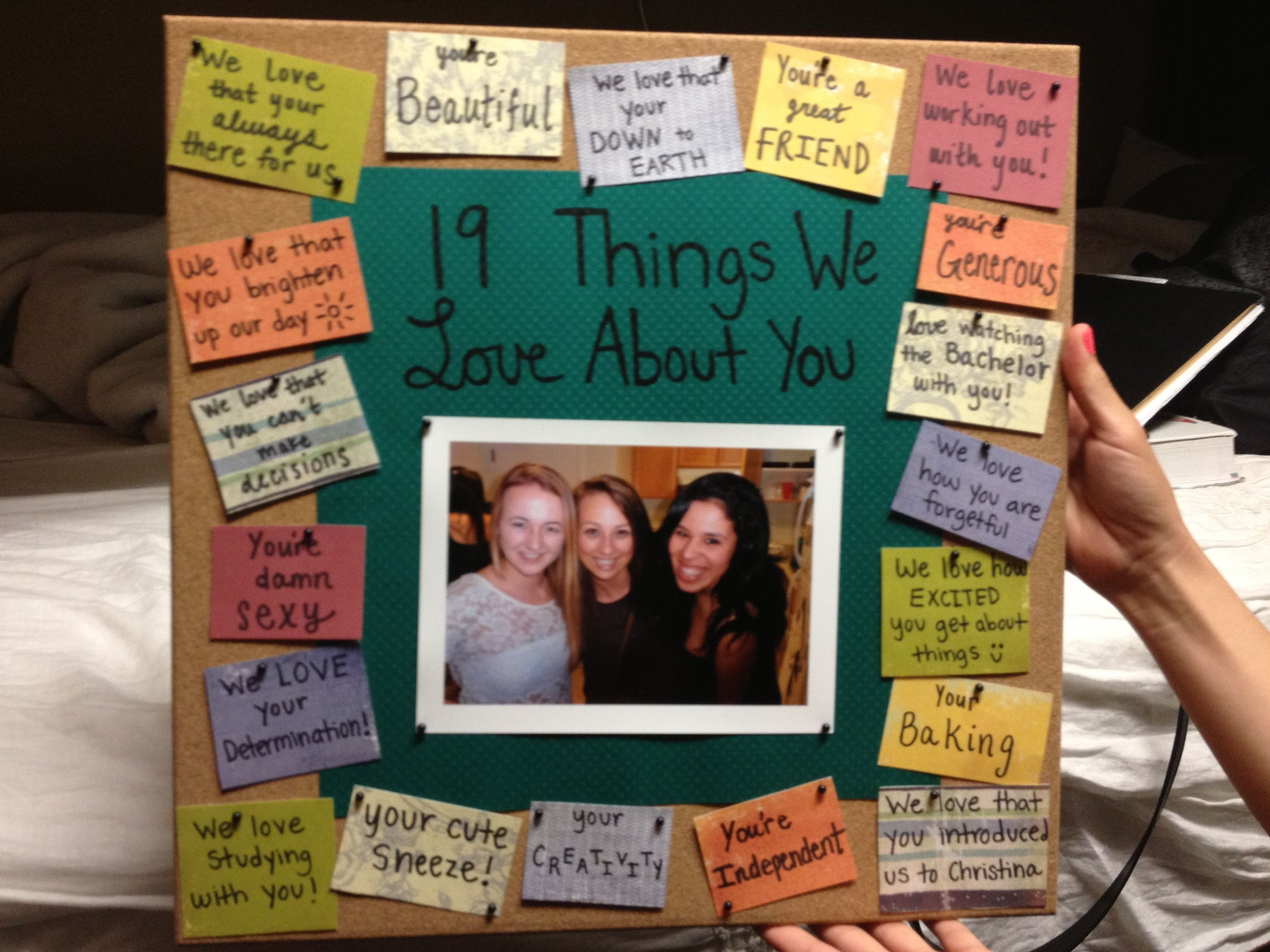 10 Amazing Gift Ideas For Best Friend Female birthday gift for your best friend except id do it for the sweet 9