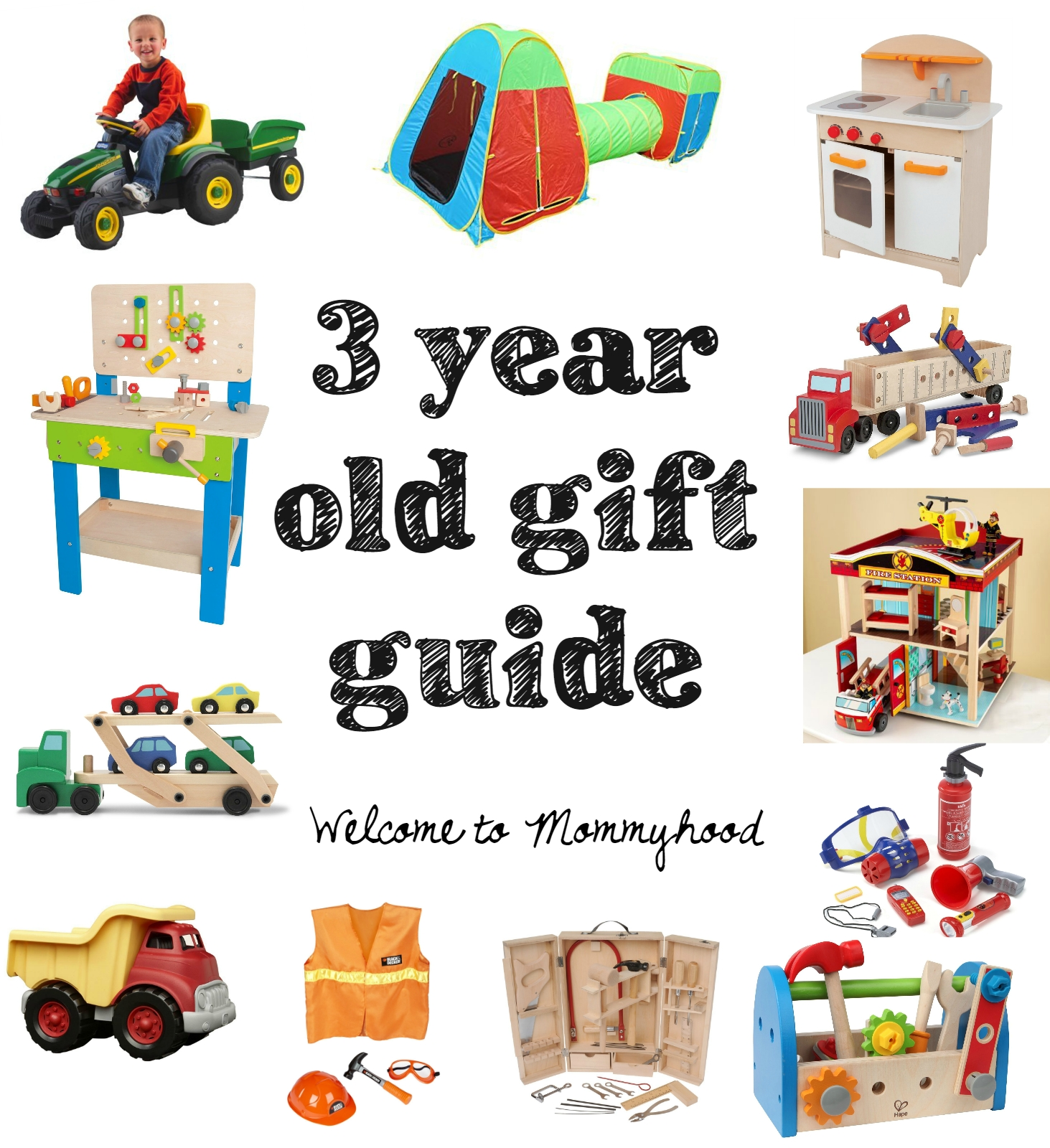 10 Perfect 4 Year Old Boy Birthday Gift Ideas