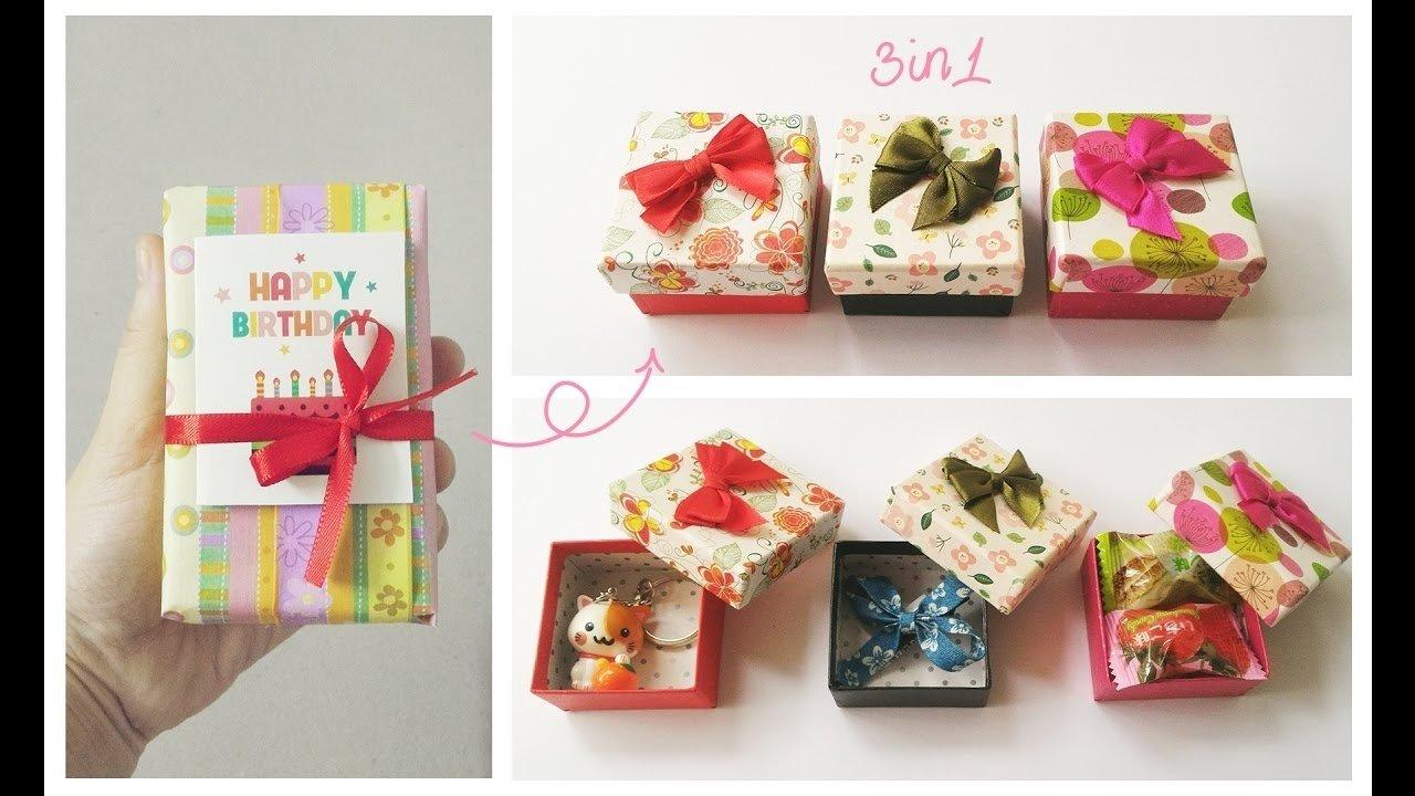 10 Amazing Birthday Gift Ideas For Friend birthday gift ideas for friend cute easy 3 in 1 youtube 1 2020
