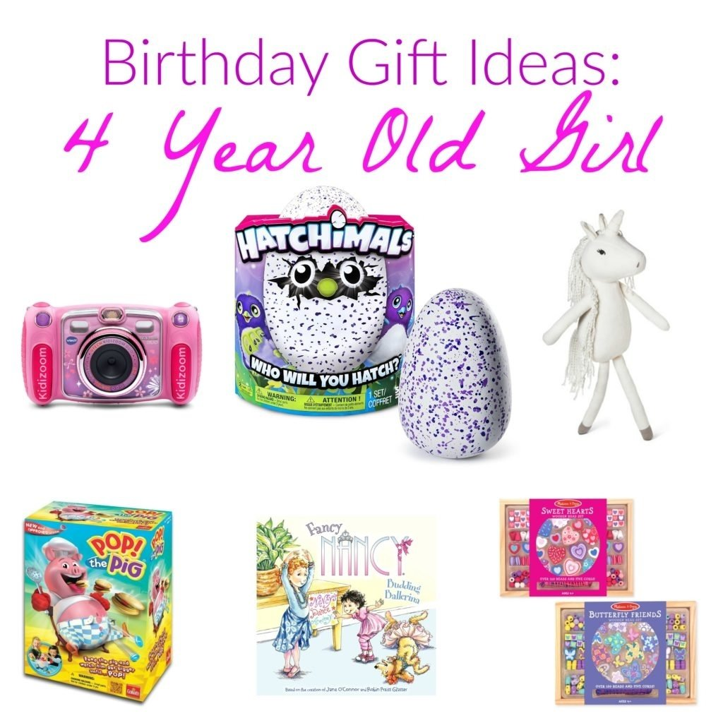 10 Attractive 4 Year Old Birthday Girl Gift Ideas Wish List