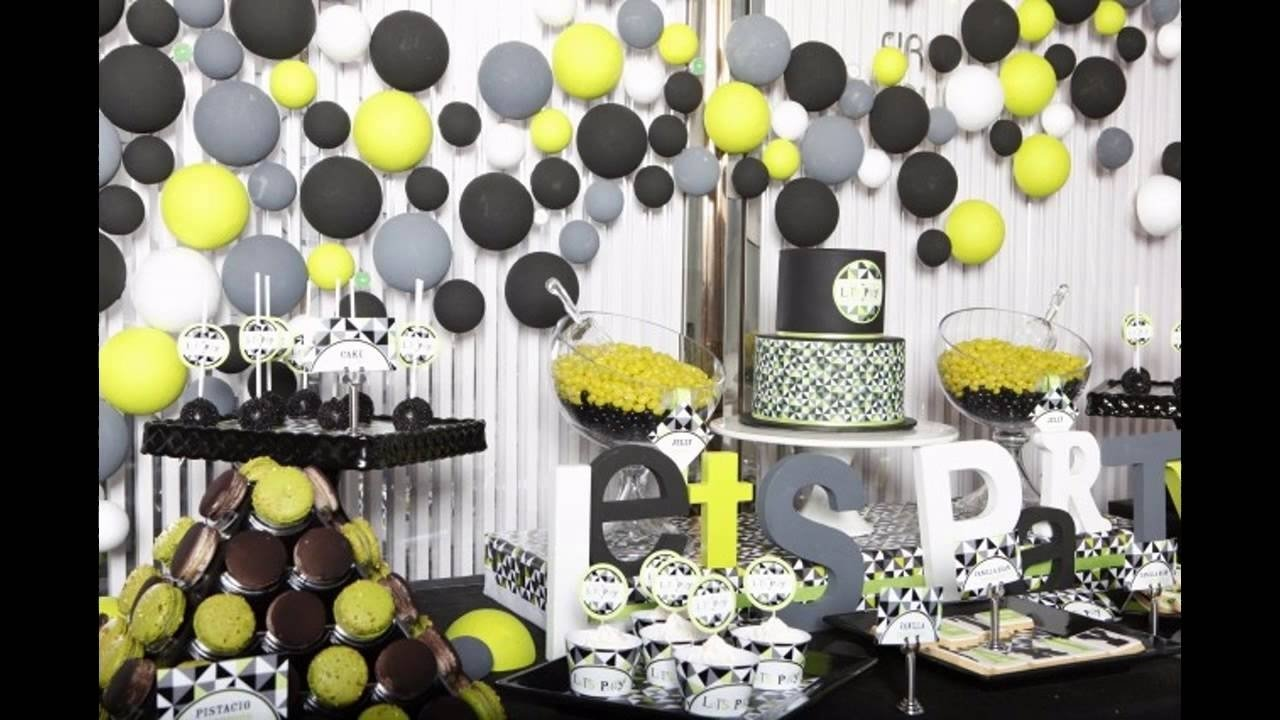 10 Fantastic Surprise Party Ideas For A Man birthday ideas for husband youtube 2 2020