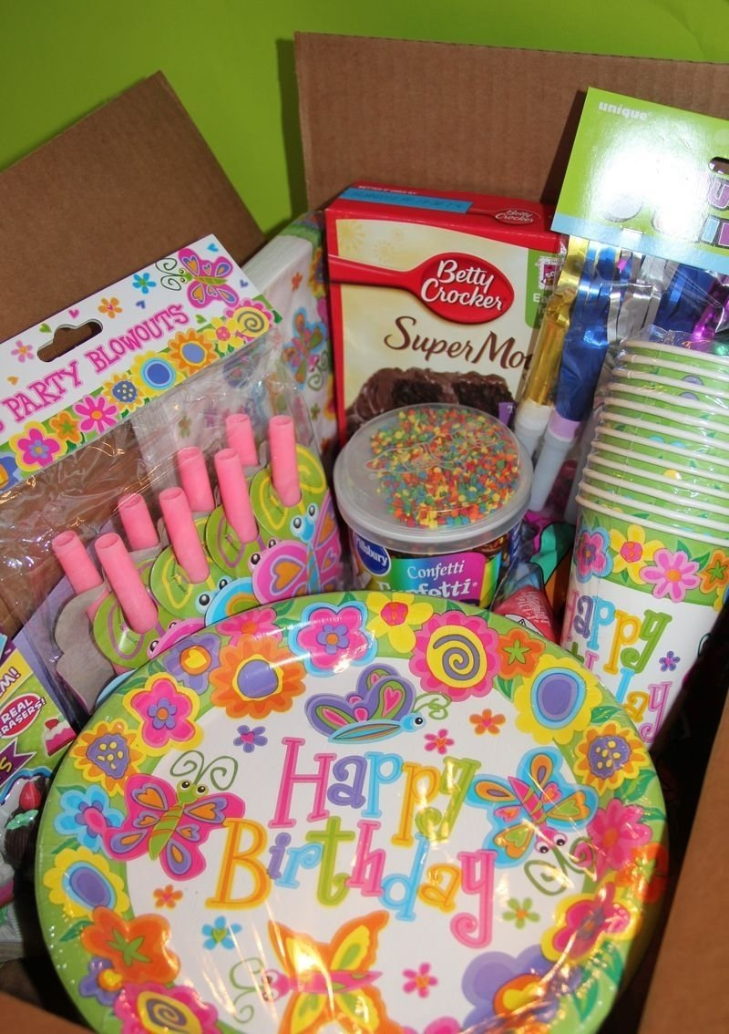 10 Unique Party In A Box Ideas birthday in a box service project girl scout ideas pinterest 2020