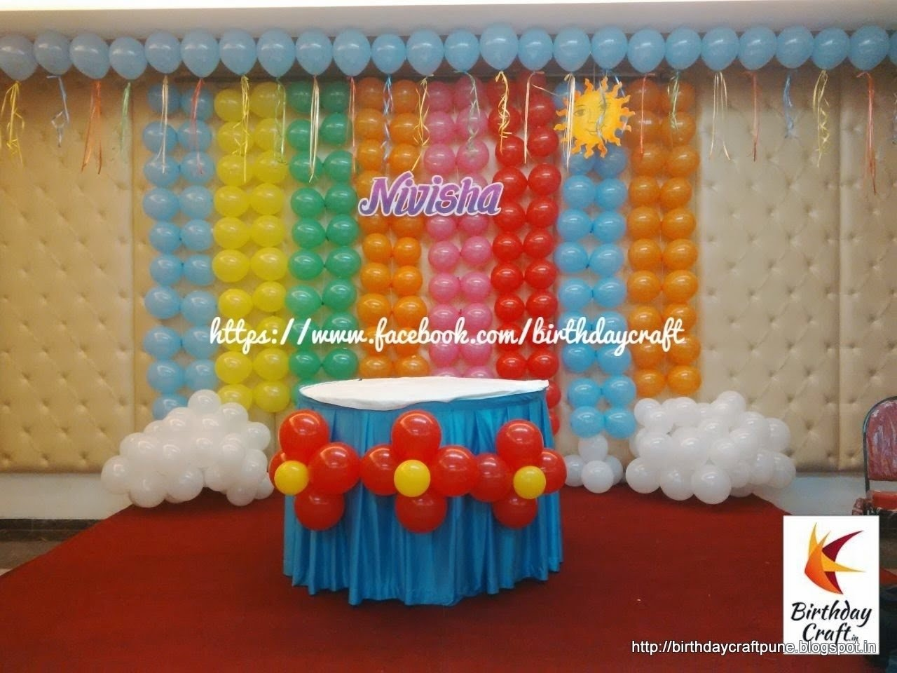 10 Unique Birthday Party At Home Ideas birthday parties kids party decorations home tierra este 59851 3 2020