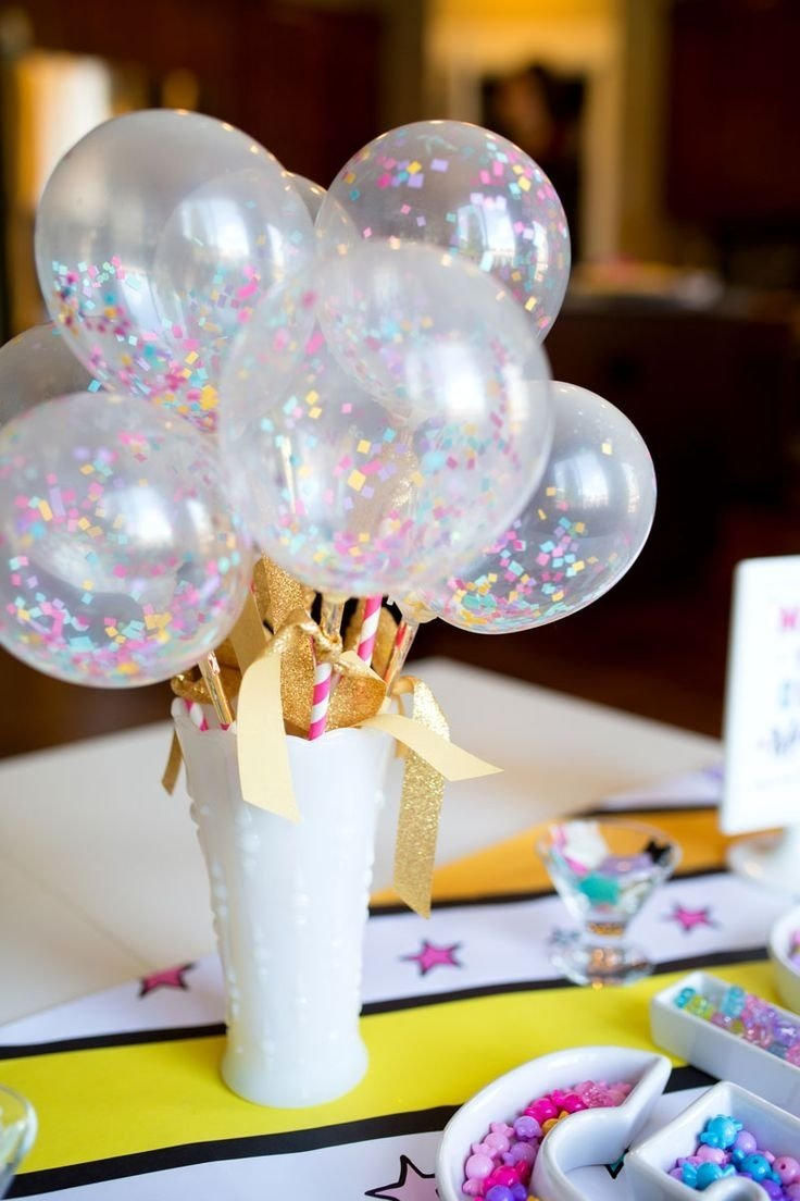 10 Fashionable Centerpiece Ideas For Birthday Party