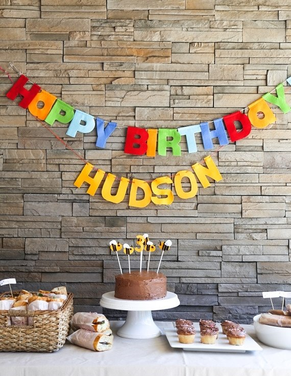 10 Best Ideas For 3 Year Old Birthday Party Decoration