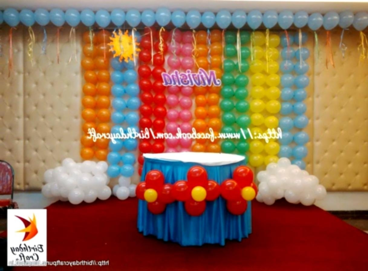 10 Stunning Decorating Ideas For A Birthday Party birthday party decoration ideas home decorating not tierra este