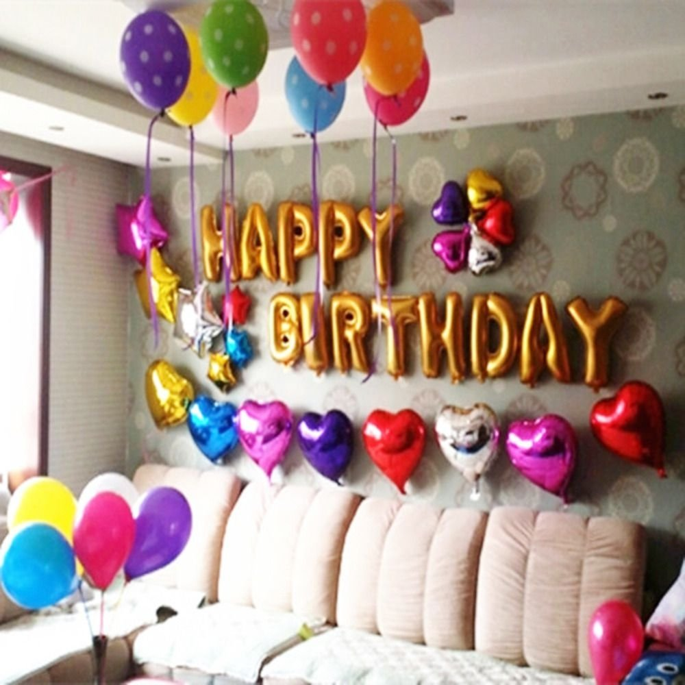 10 Stunning Decorating Ideas For A Birthday Party birthday party decorations at home birthday decoration ideas 1