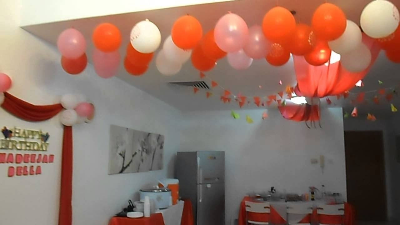 10 Stunning Decorating Ideas For A Birthday Party birthday party decorations idea youtube