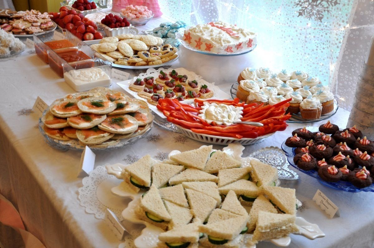 10 Great Catering Ideas For Birthday Party birthday party food ideas cucumber sandwiches candy cane blossoms 3 2021