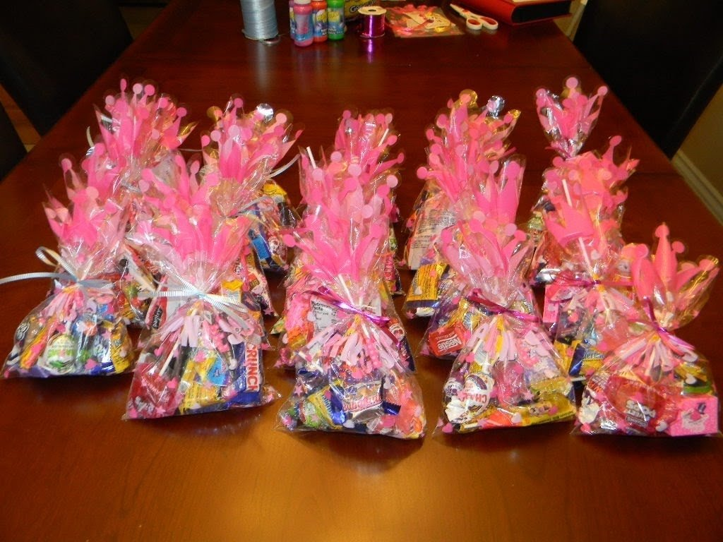 birthday party goodie bags! - youtube