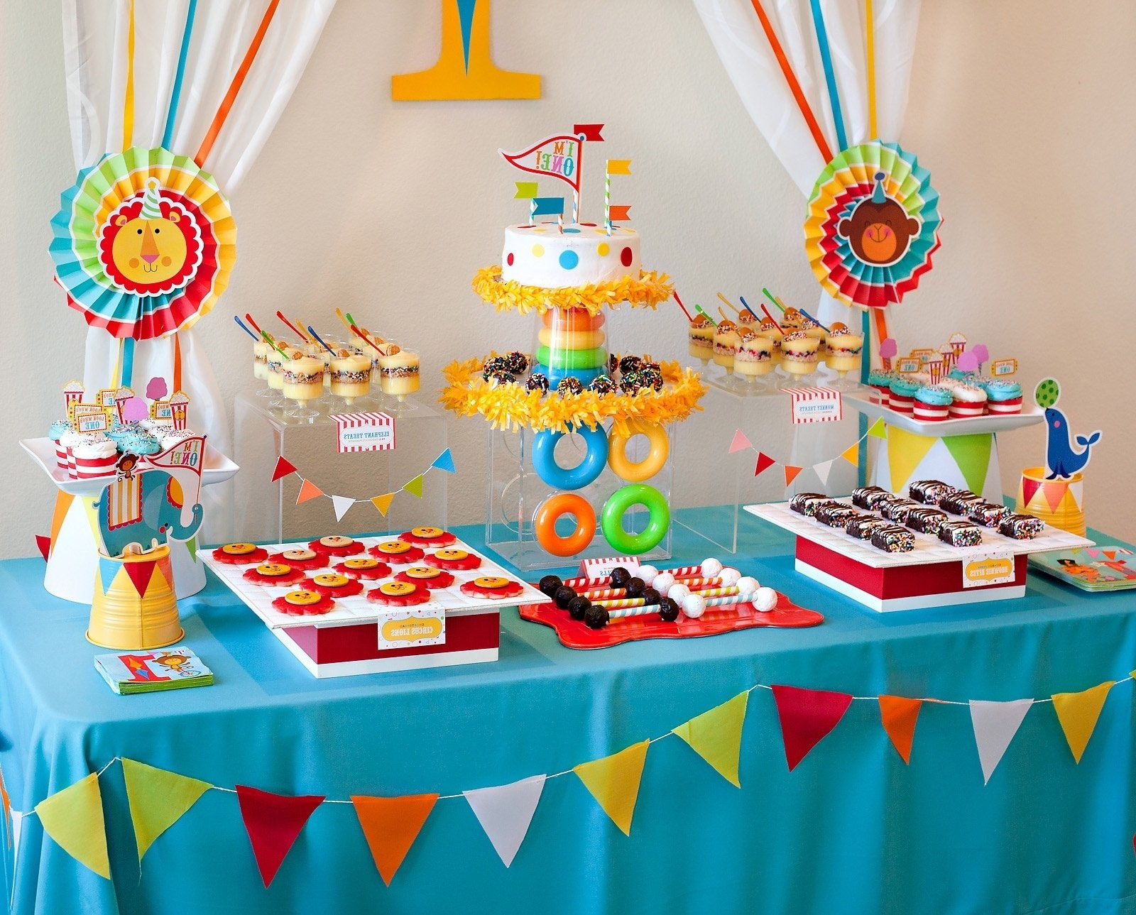 10 nice ideas for toddler birthday parties