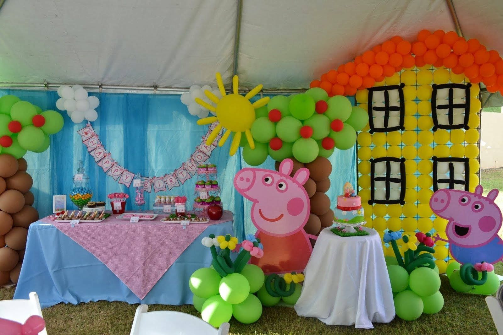 10 Unique Peppa Pig Birthday Party Ideas birthday party of peppa pig 2021