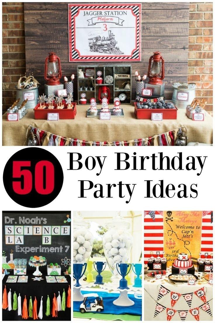 10 Amazing 5Th Birthday Party Ideas For Boys birthday party themes for boys birthday ideas 2020