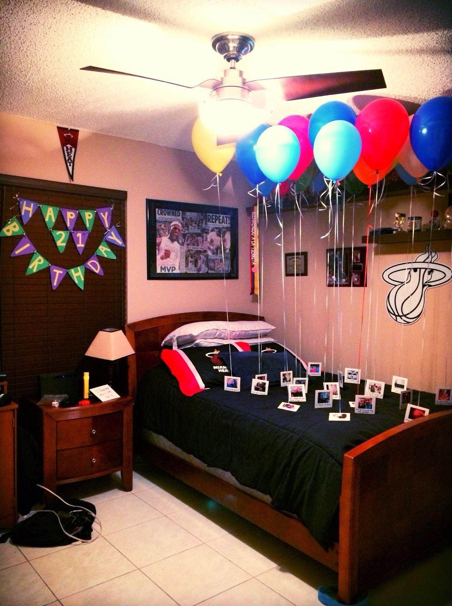 10 Stunning Birthday Ideas For My Boyfriend birthday surprise for boyfriend 21st birthday 21 reasons why i 7 2021