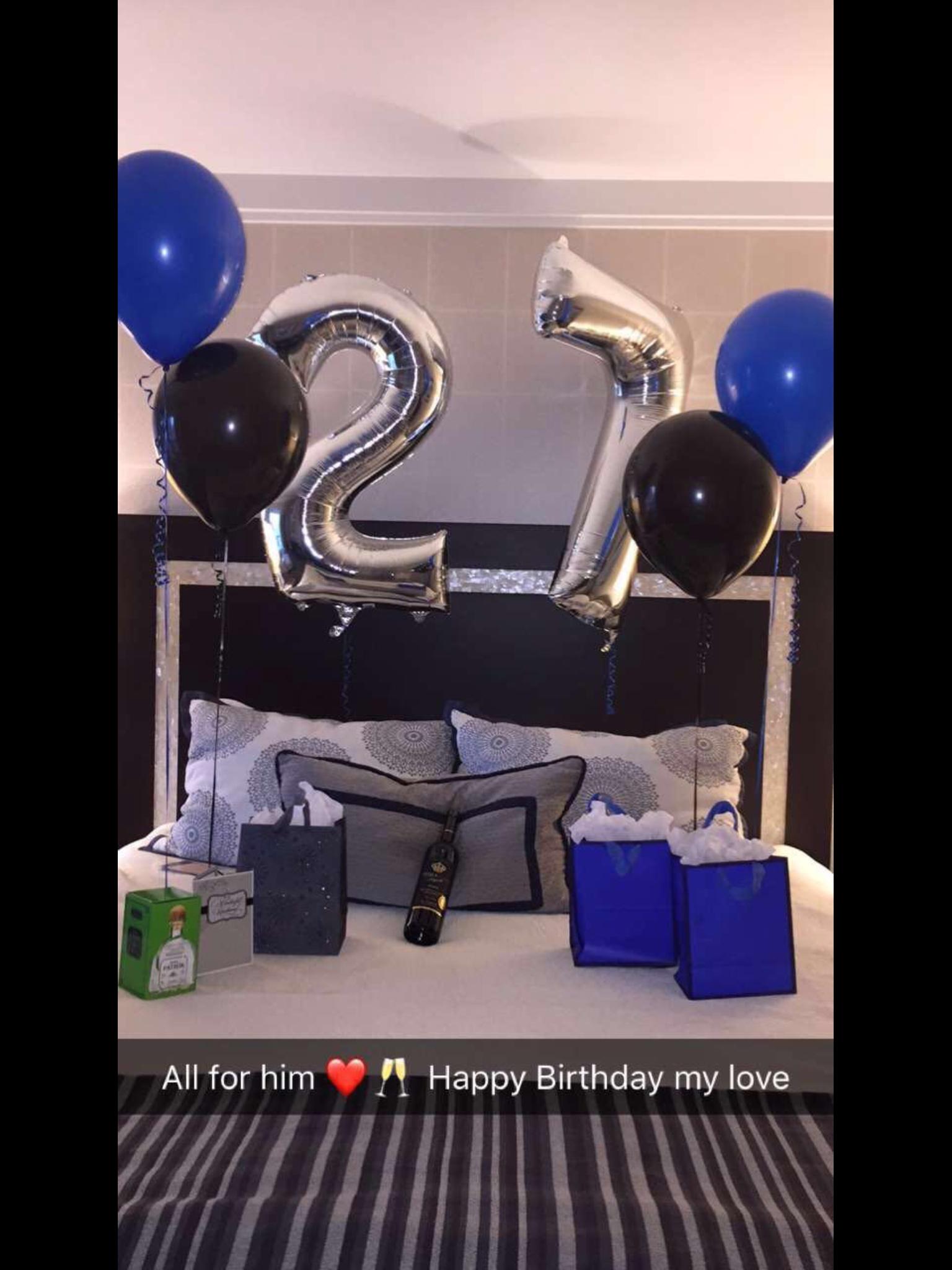 10 Stylish Surprise Birthday Ideas For Boyfriend birthday surprise for him e29da4 boyfriends pinterest jay 2 2020