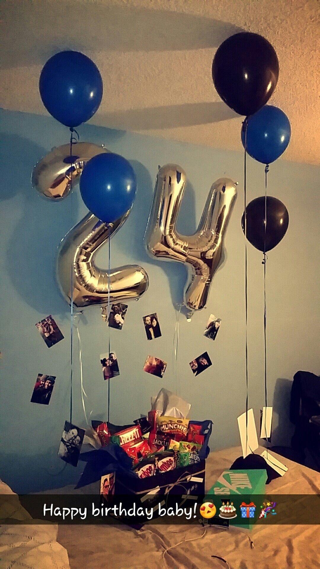 birthday surprise for his birthday!   boyfriend gift ideas
