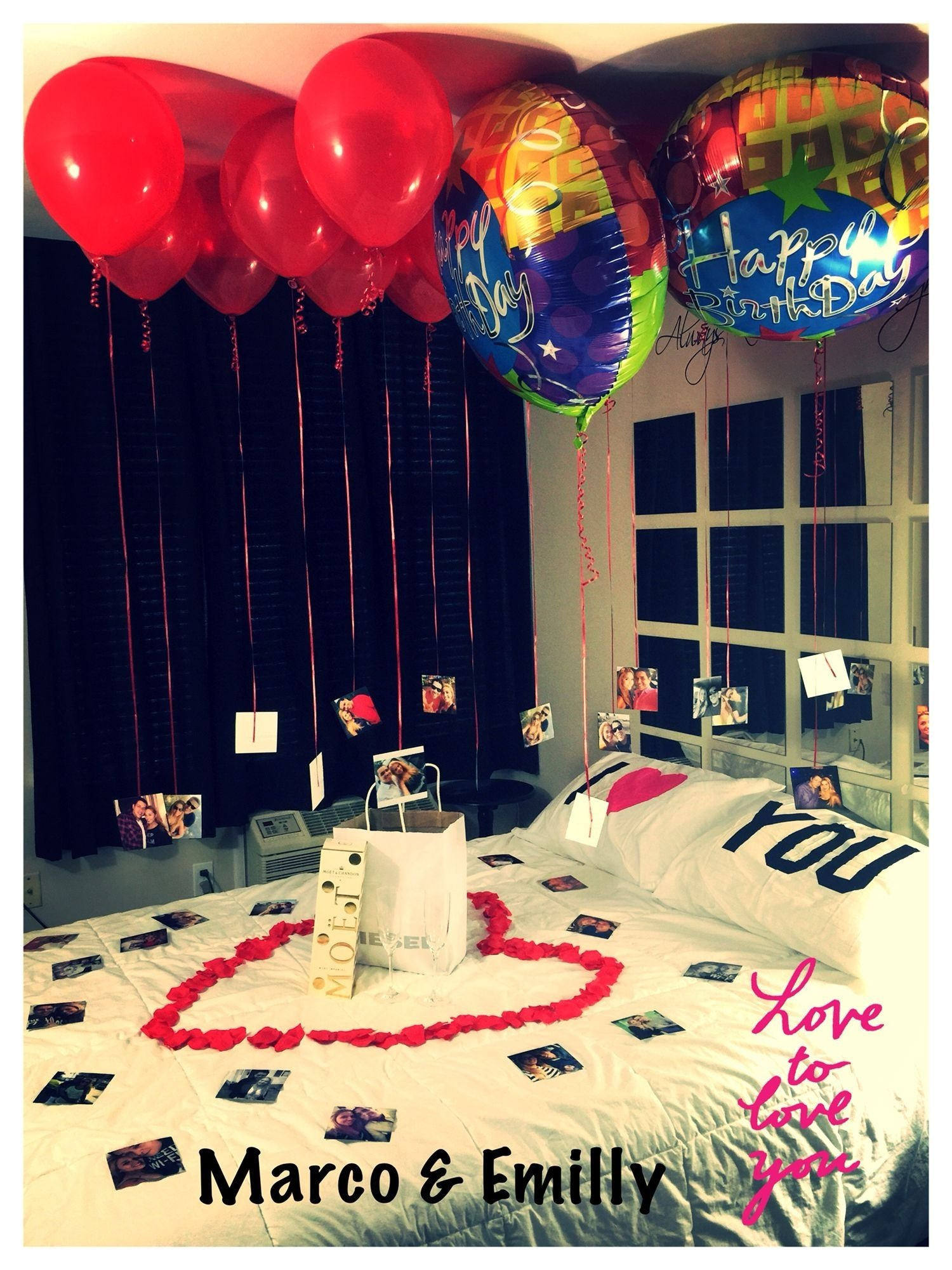 birthday surprise for my fiancé | stuff i do | pinterest | birthdays