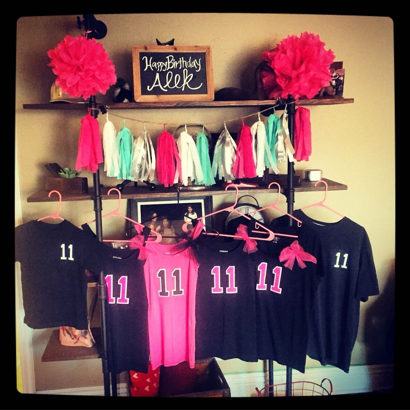 10 Awesome Slumber Party Ideas For 11 Year Olds birthday themed t shirts and tank tops for an 11 year old girls 1 2020