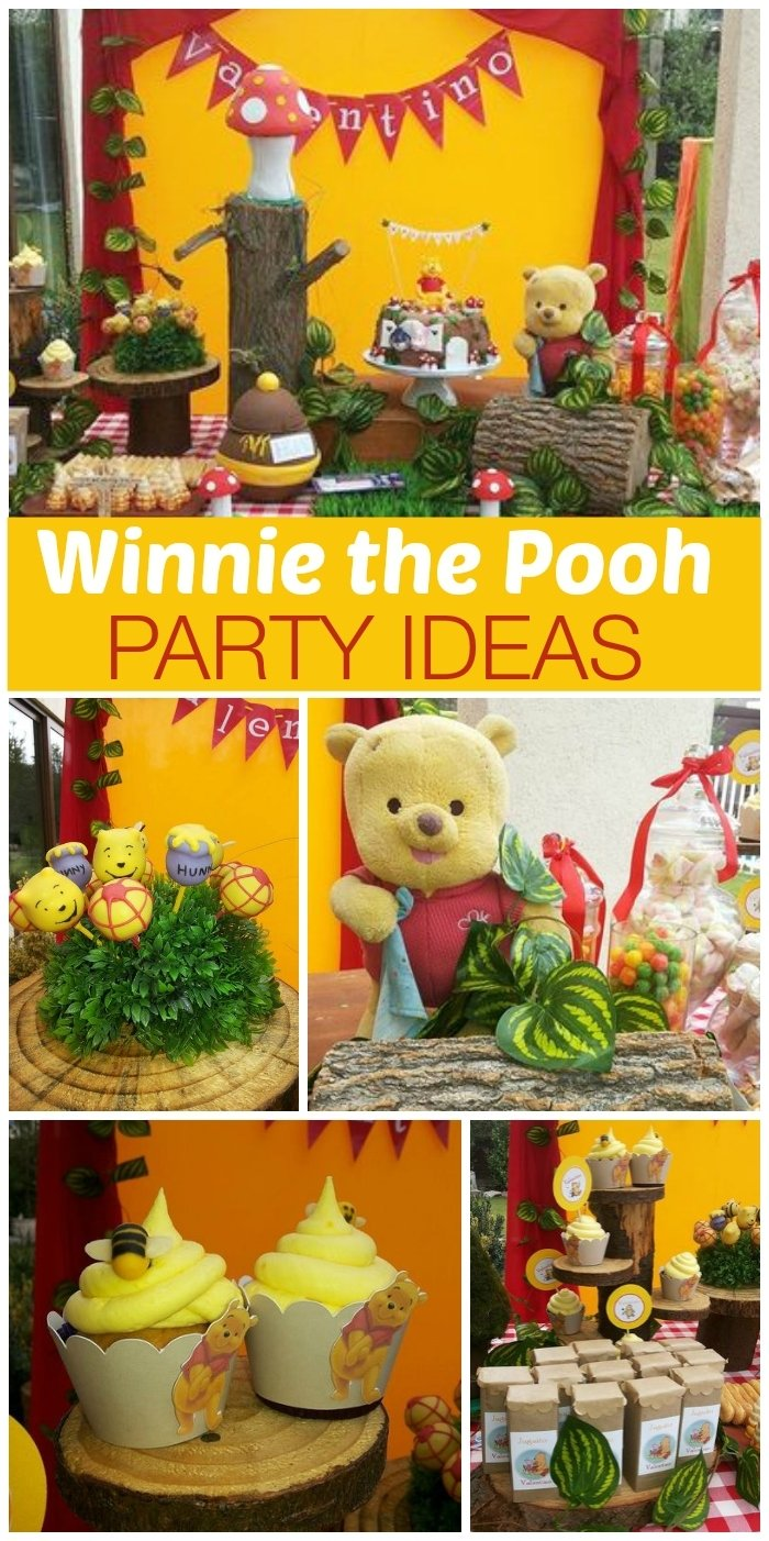 "birthday ""winnie the pooh"" 