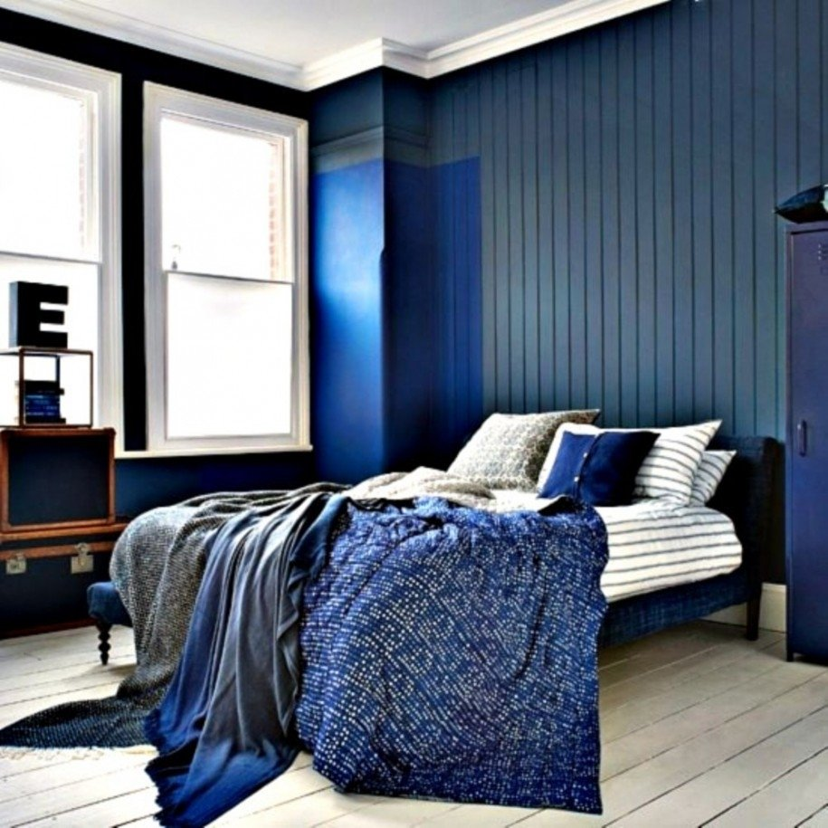 10 Lovable Blue And Black Bedroom Ideas black and blue bedroom designs beautiful black and blue bedroom 2020