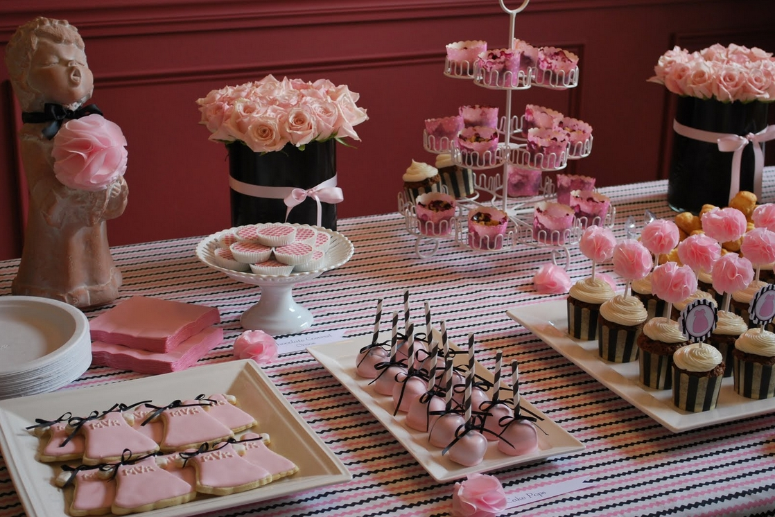 10 Perfect Pink And Black Baby Shower Ideas black and pink baby shower ideas babywiseguides 2021
