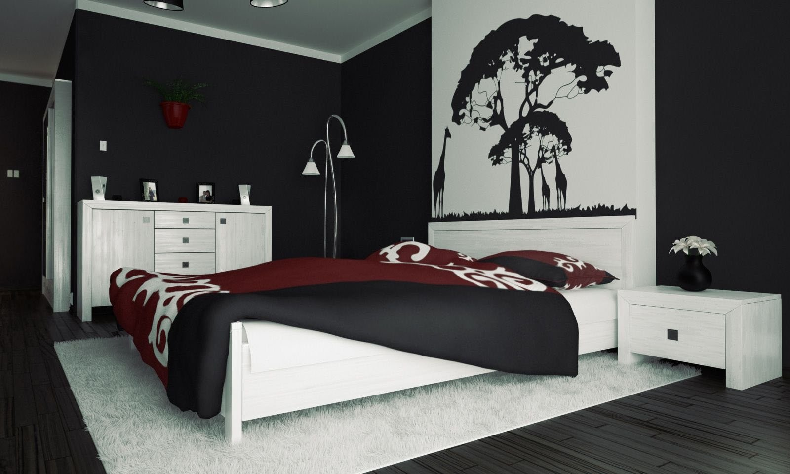 10 Trendy Red And Black Room Ideas black and red bedroom ideas internetunblock internetunblock 2021