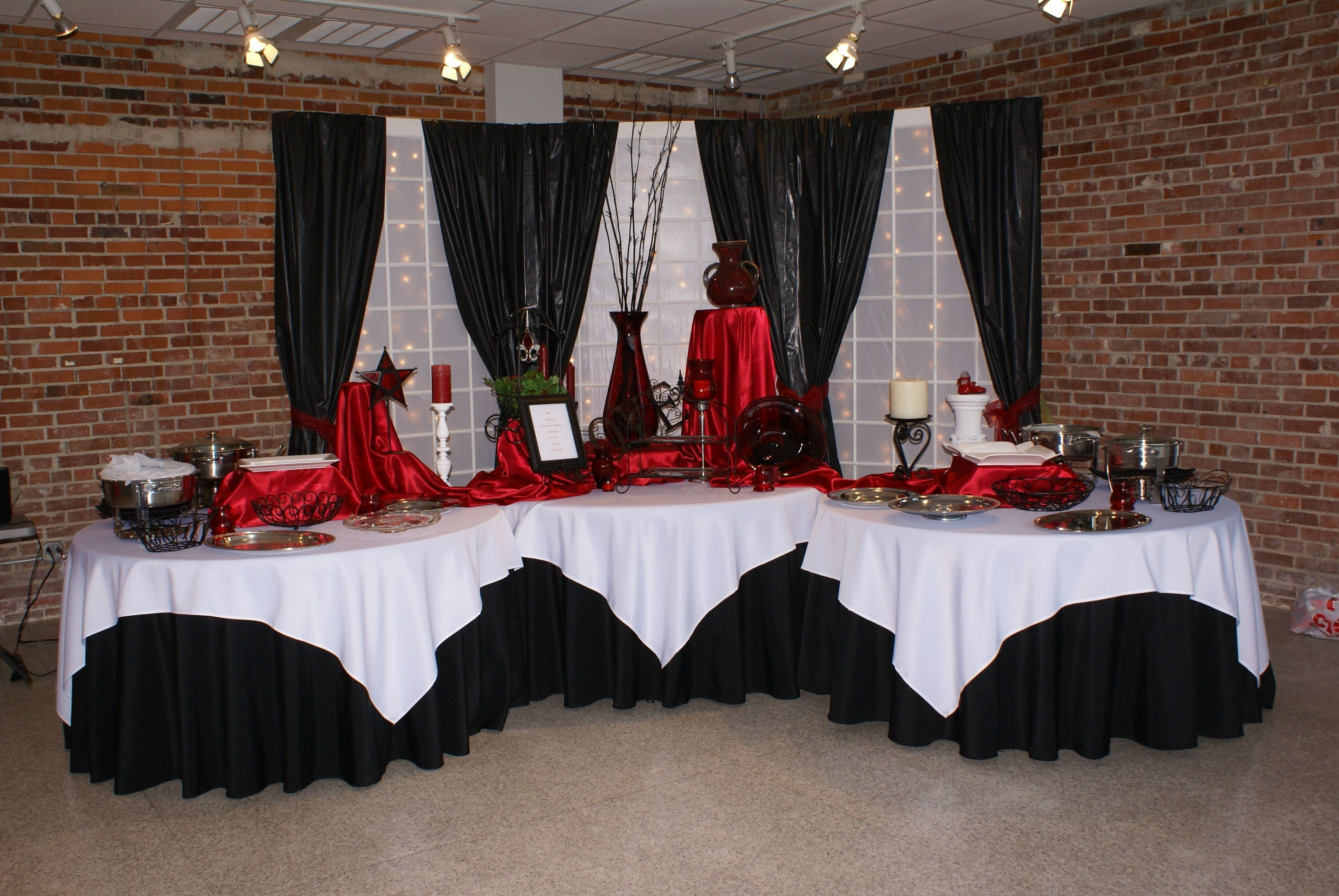 10 Attractive Red And Black Wedding Ideas black and red wedding decorations ideaste silver cake magnificent 1 2021