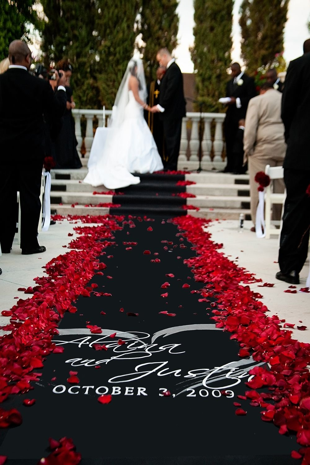 10 Fabulous Red Black And White Wedding Ideas black and red wedding ideas wedding ideas pinterest red