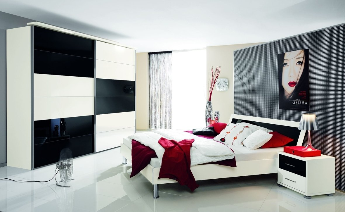 10 Lovely Black White And Red Bedroom Ideas black and white and red bedroom