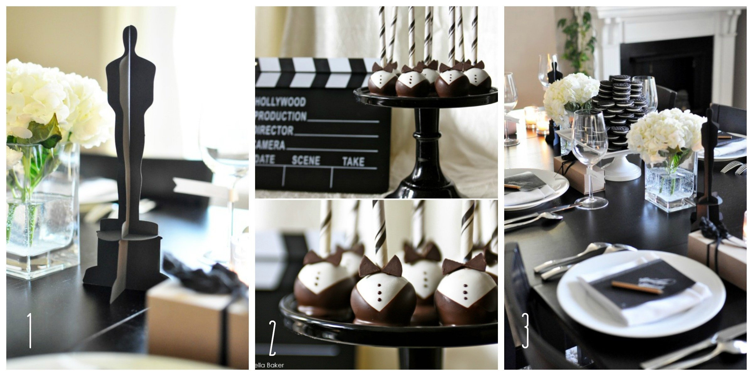 10 Awesome Black And White Centerpiece Ideas black and white party centerpiece ideas decorations for wedding 2021