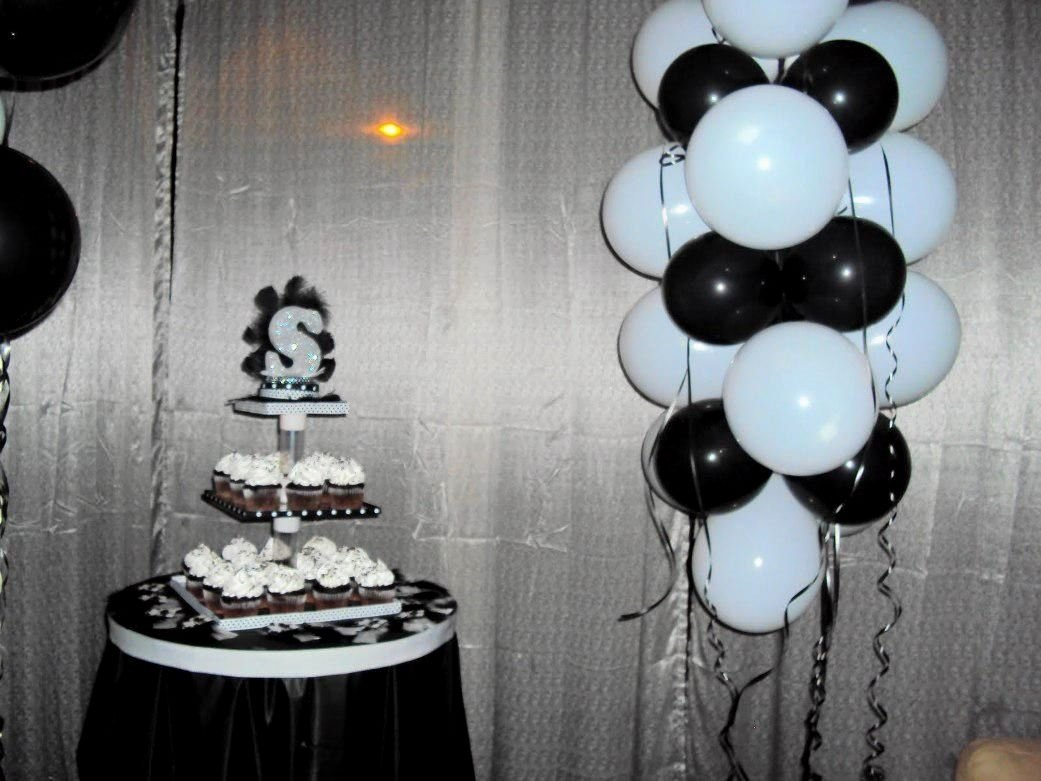 10 Stylish Black And White Party Decoration Ideas black and white party decorating ideas elegant black and white party 2020