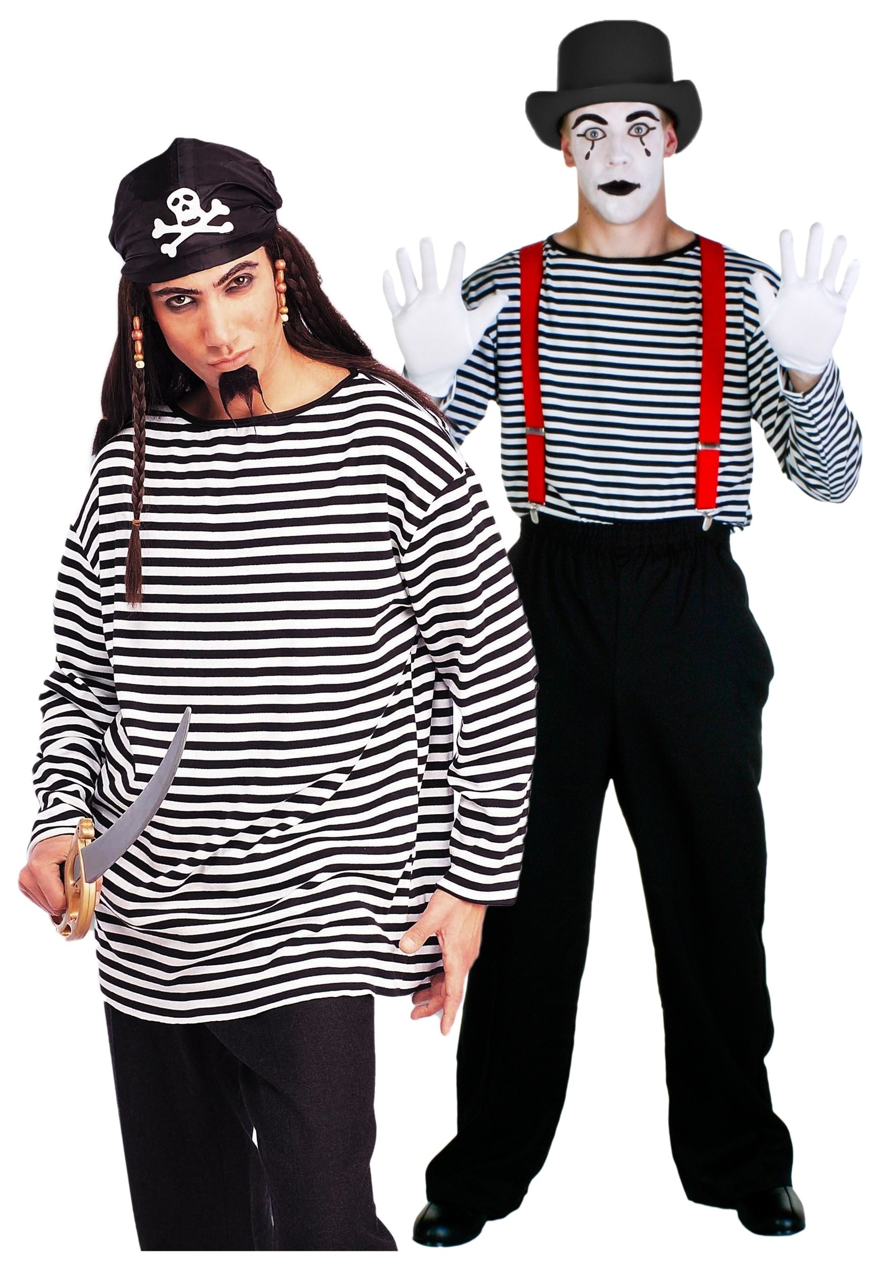 10 Best Black And White Costume Ideas black and white striped costume shirt mens prisoner costume ideas
