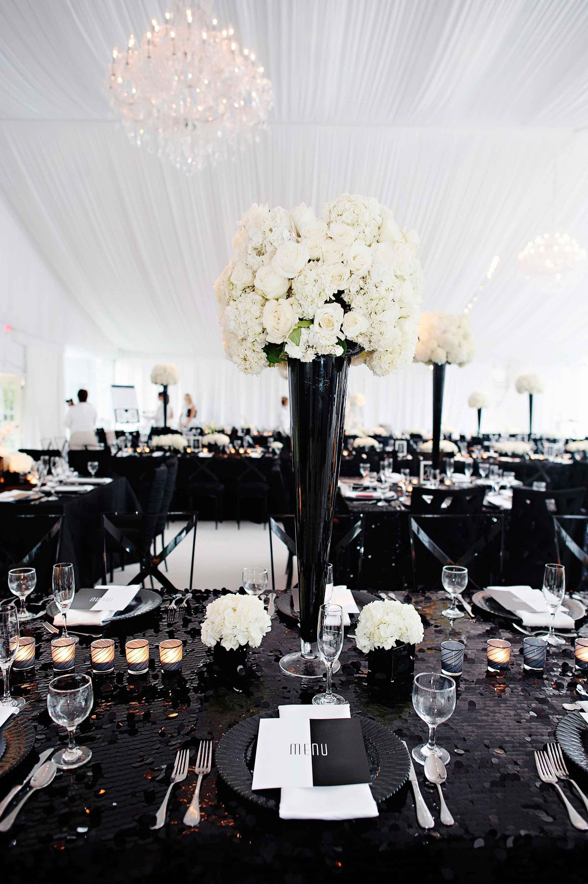 10 Amazing Black And White Wedding Ideas black and white wedding ideas pros and cons inside weddings 2021