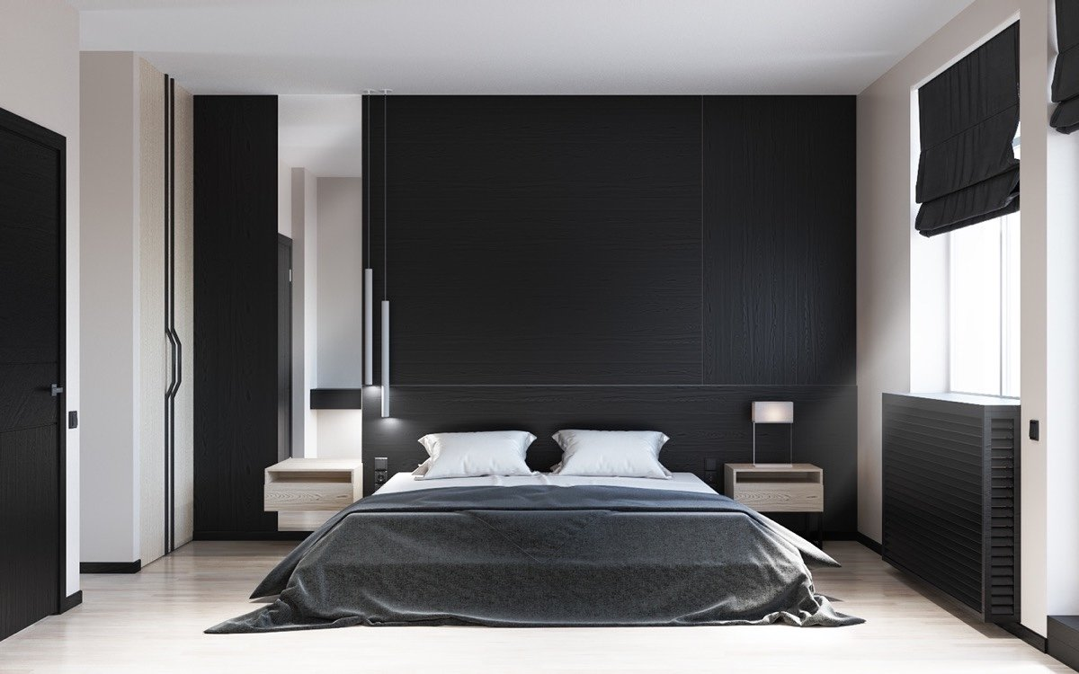 10 Wonderful Black And White Photo Ideas black bedroom decor ideas stylid homes 1 2021