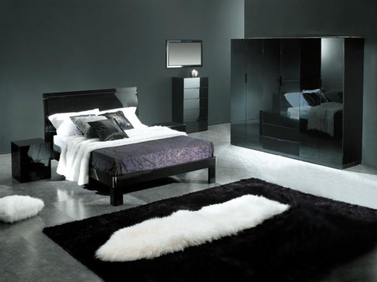 10 Perfect Black And Gray Bedroom Ideas black bedroom decor ideas stylid homes