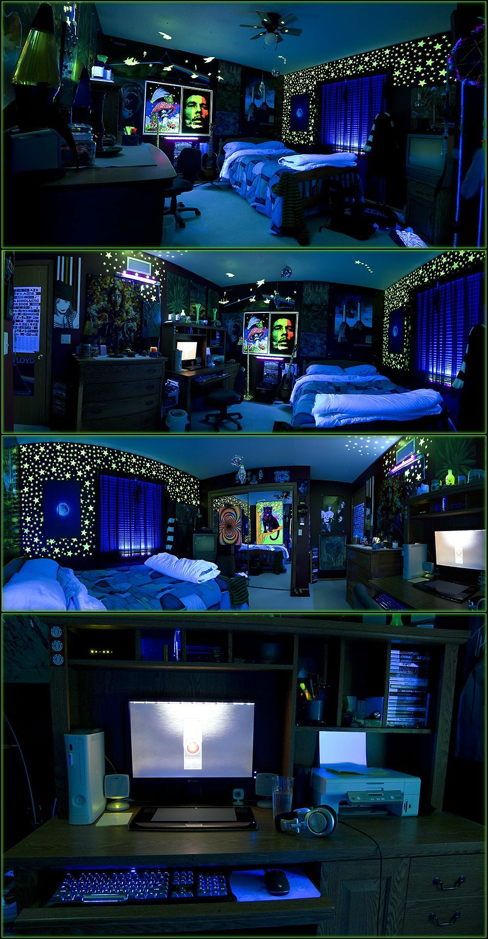 10 Amazing Black And Blue Bedroom Ideas black blue lit cool stoner room cb99c2b7d9a0e280a2e2978be299a5 for the home e299a5e2978be280a2d9a0c2b7cb99 in 2020
