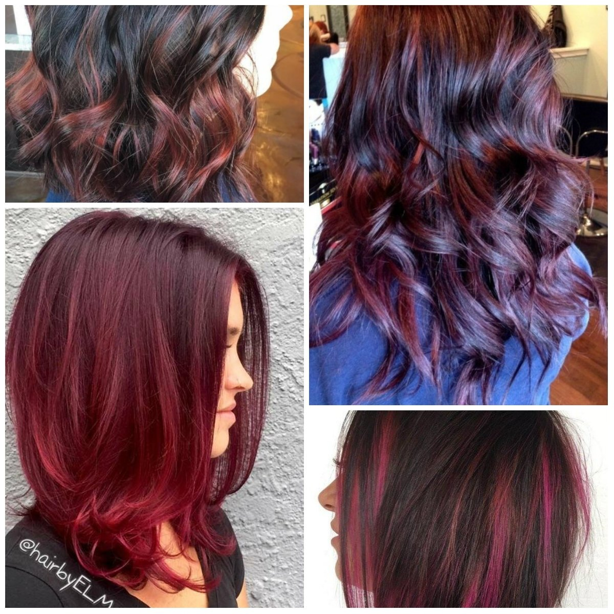 black cherry hair colors for 2017 – best hair color ideas & trends