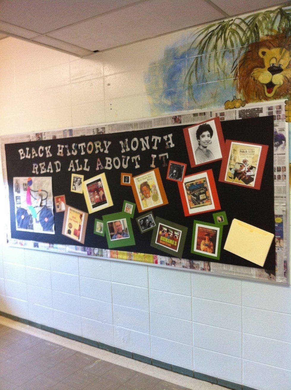 10 Lovely Bulletin Board Ideas For Black History Month black history bulletin board ideas bulletin board ideas designs 1