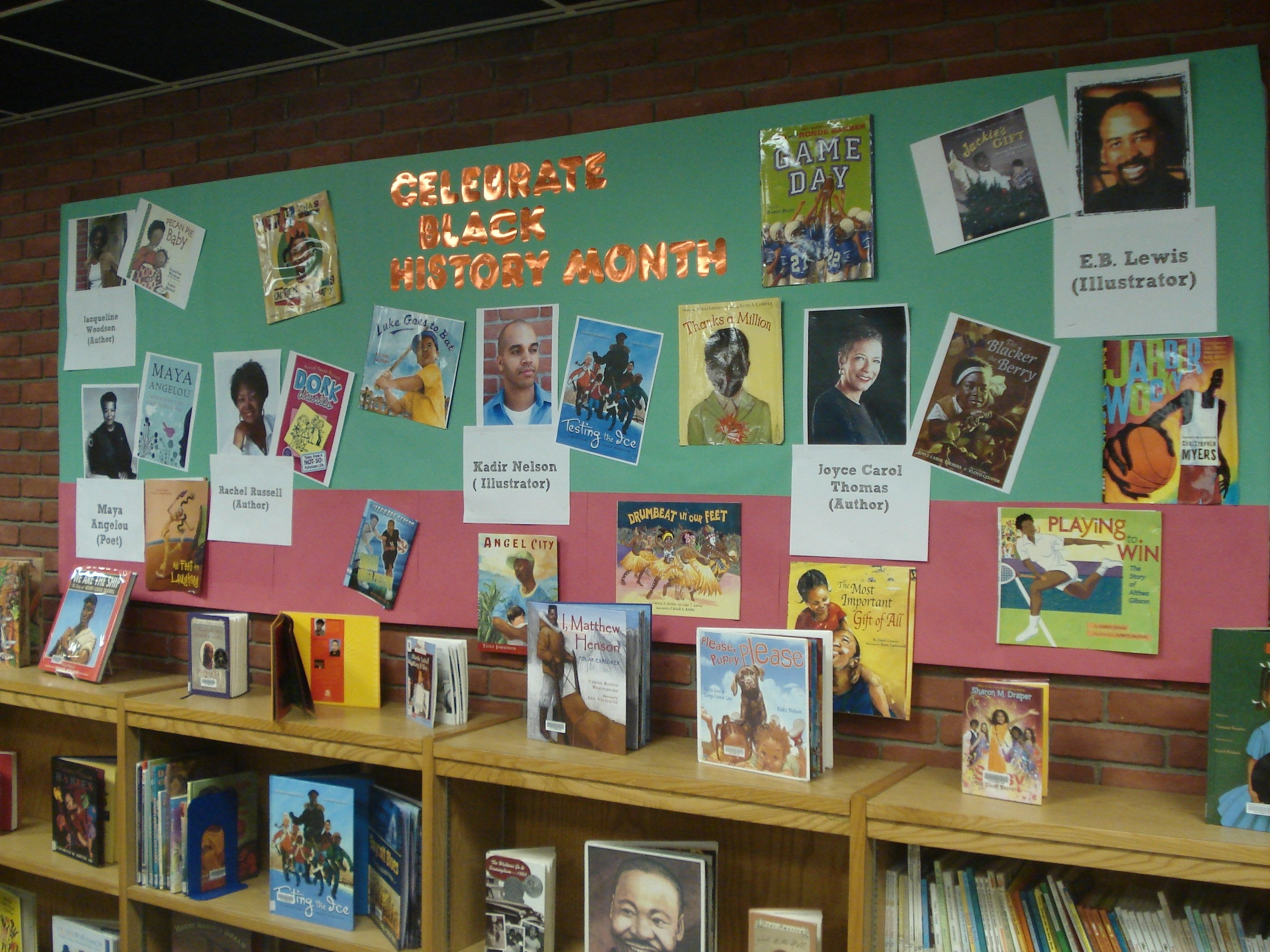 10 Lovely Bulletin Board Ideas For Black History Month black history month display alsc blog 1