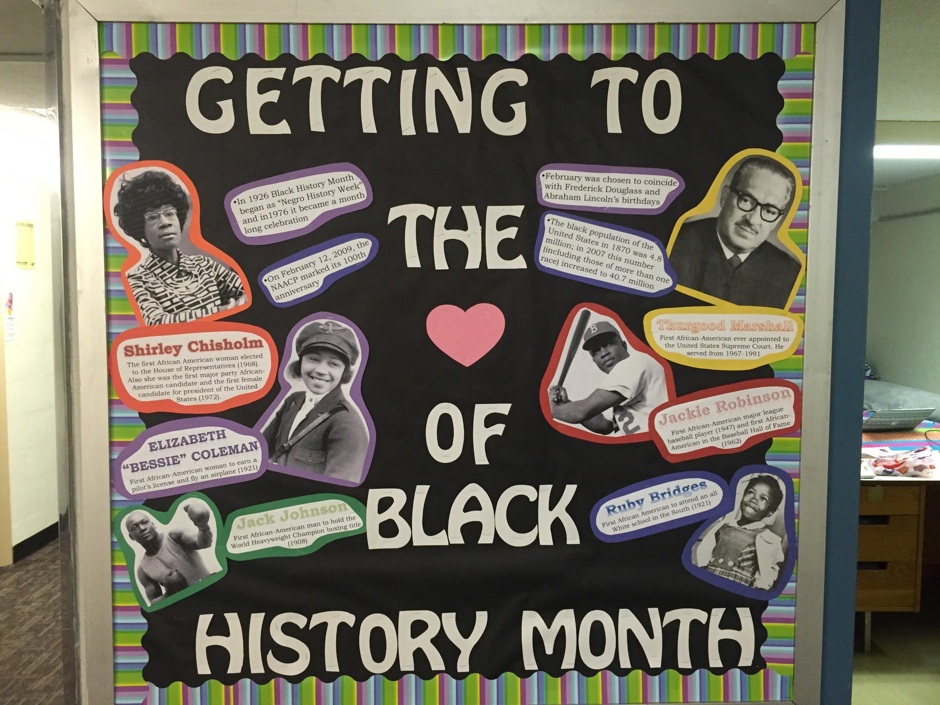 10 Fashionable Black History Month Ideas For Church black history month ra bulletin board educare pinterest ra 1 2021