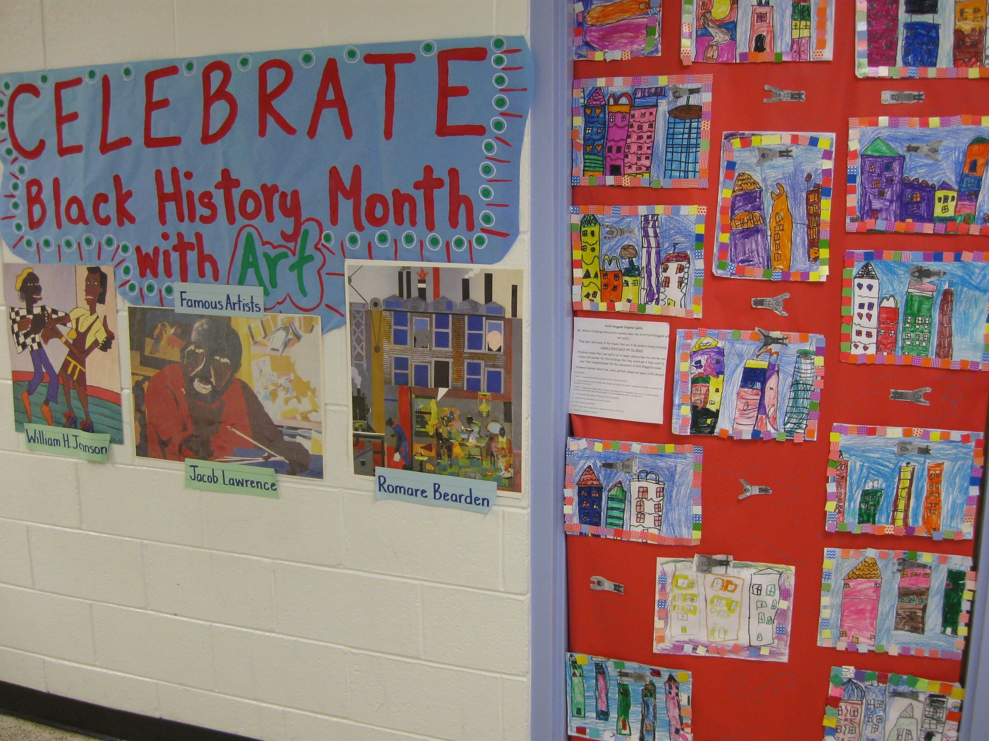 10 Fabulous Black History Month Bulletin Board Ideas black history month with art school ideas pinterest black 2021