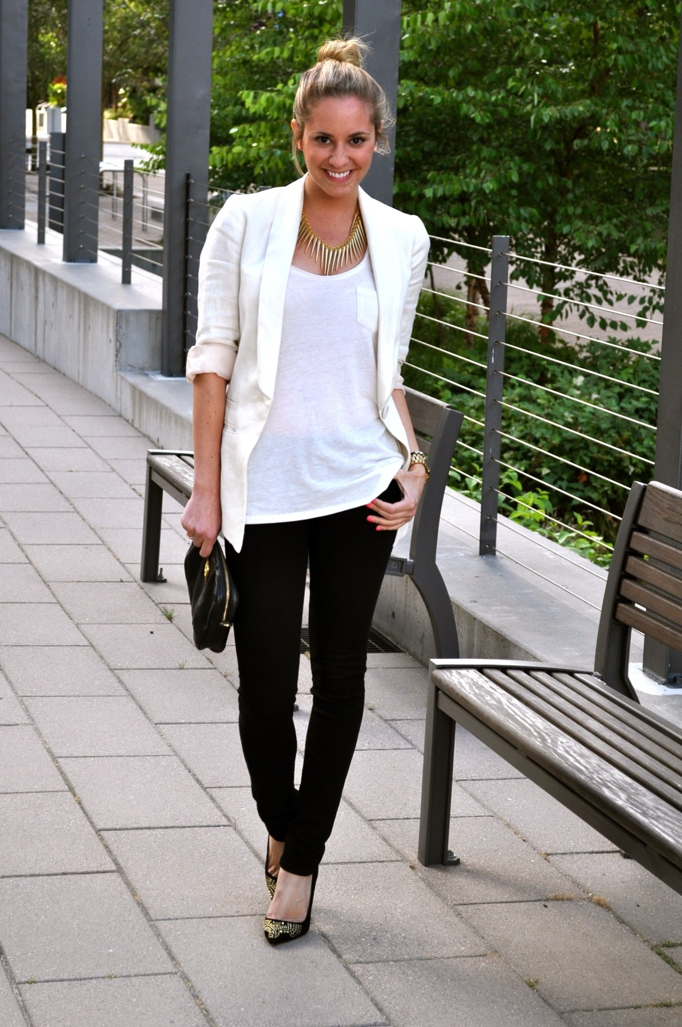 10 Unique Black And White Outfit Ideas black jeans outfits confessions of a product junkie 2021