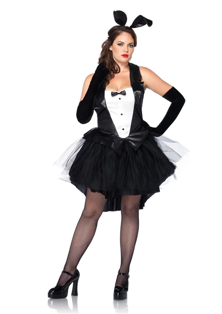 10 Best Black And White Costume Ideas black white 2 pc tux and tails bunny costume amiclubwear costume