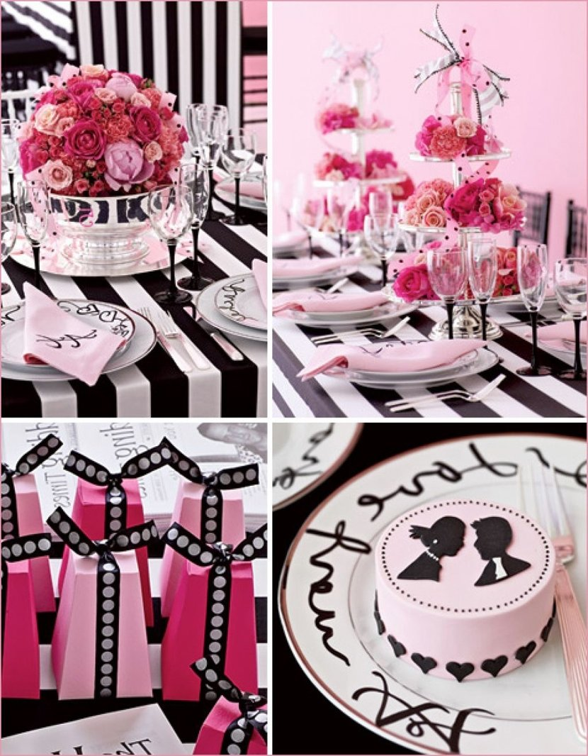 10 best black and white bridal shower ideas black white and pink themed bridal shower unique