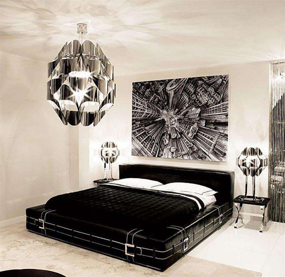 10 Wonderful Black And White Bedroom Ideas black white and silver bedroom ideas home design ideas 2020