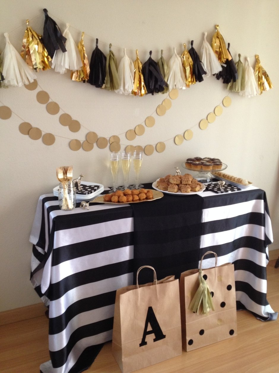 10 Fantastic Black And Gold Party Ideas black white gold party gold party black white gold and white gold
