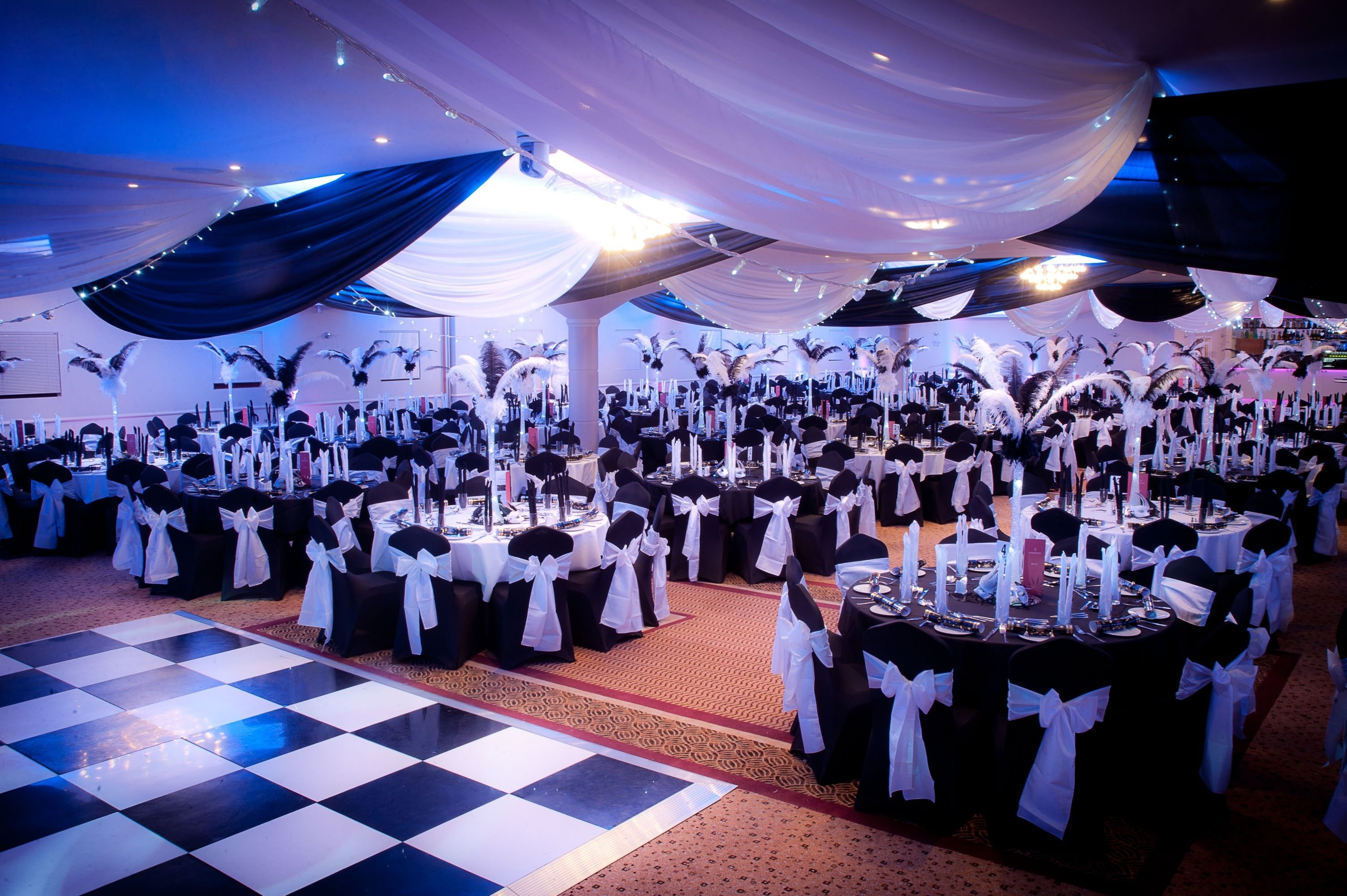 10 Stylish Masquerade Party Ideas For Adults black white masquerade ball at the auction house photowww 1 2020