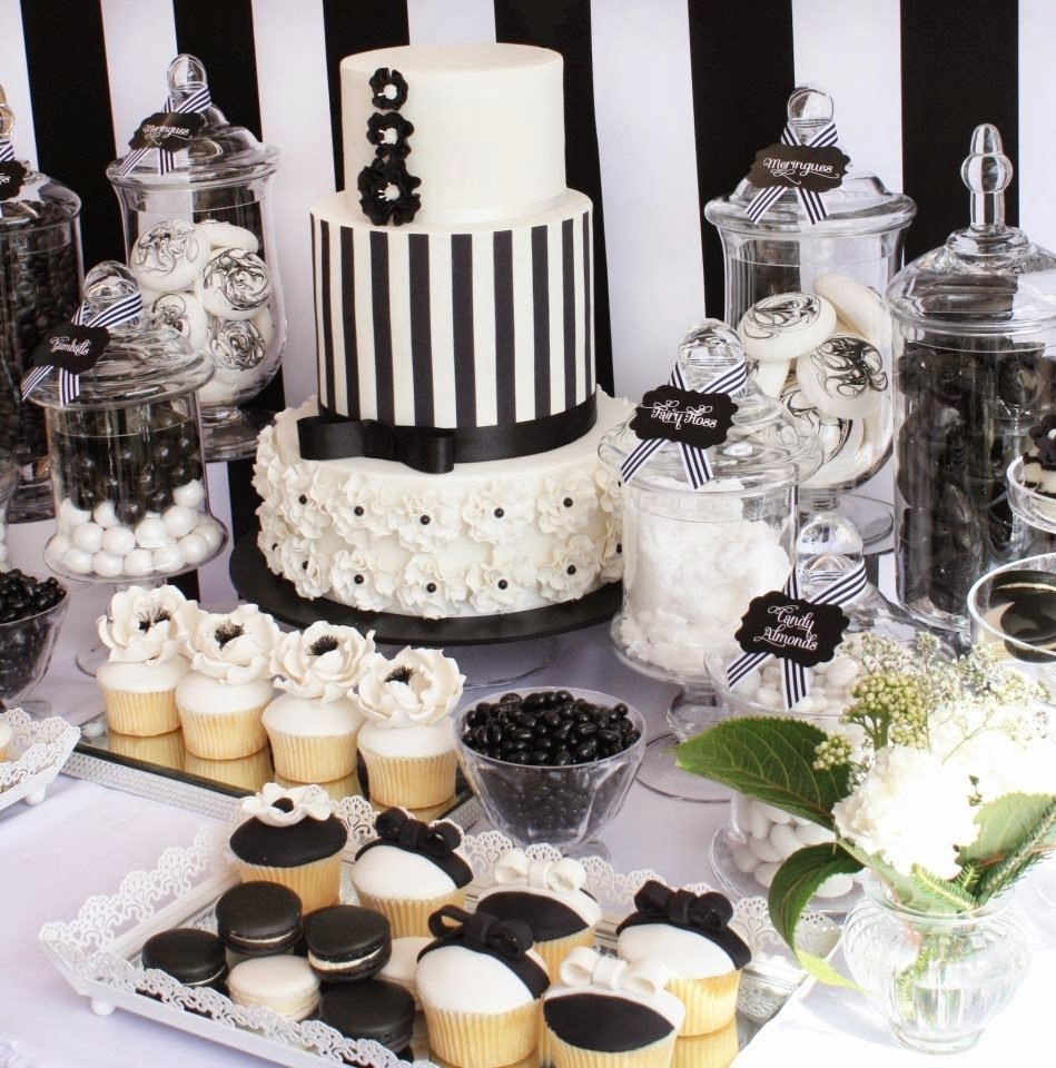 10 Perfect Black And White Food Ideas black white party party ideas pinterest black white parties 2020